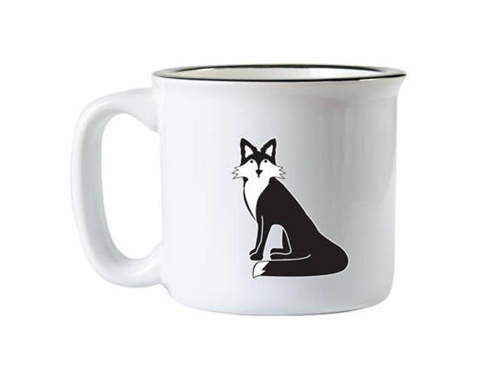 Fox Campfire Mug