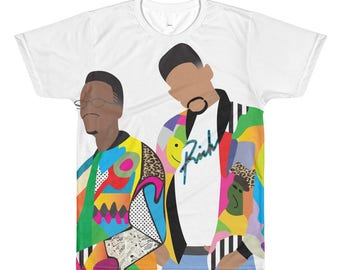 1990s DJ Jazzy Jeff & The Fresh Prince Summertime T-Shirt