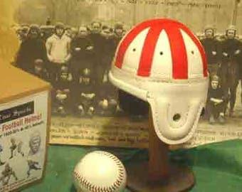 1938-1940 Mini Alabama Leather Football Helmet (1/3 scale)