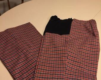 1970's Pregnancy pants.
