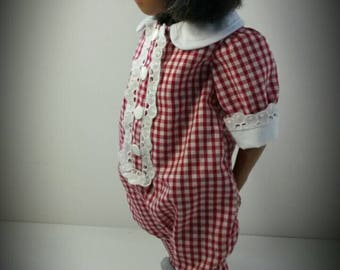 Romper suit for sasha with or without hat .