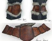 Tribal female leather cor...