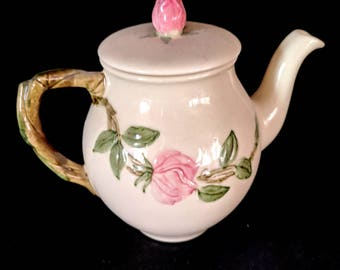 Franciscan 'Desert Rose' Individual Tea Pot