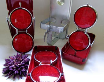 Reflectors; FOCO FLAR Portable Reflectors, Set Of Three, Vintage