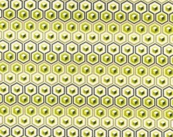 Hex Box in Olive Voile by Tula Pink HY