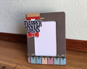 Picture frame-OOAK-Disney Dapper Dans inspired picture frame, Housewares, Picture Frames