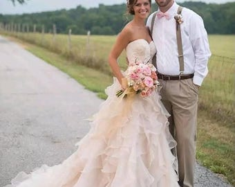 Country Bridal Gown