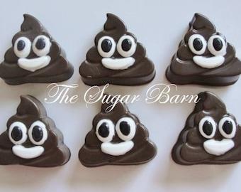 POOP EMOJI CHOCOLATE Mini Oreo® Cookies*12 Count*Big Stinker*Emoji Party*Emoji Favor*Emoji Gift*Emoji Candy*Poop Favor*Gag Gift*Birthday