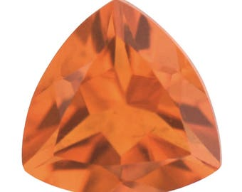 Fire Opal Loose Gemstone Trillion Cut 1A Quality 6mm TGW 0.30 cts.