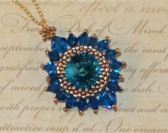 BEADING WORKSHOP - Stellar Pendant Workshop - Beading Class - One-To-One Beading Tuition - Jewellery Making Workshop - Learn To Bead