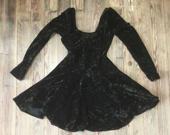 Contempo casuals velvet dress