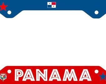 Panama Car License Plate Frame