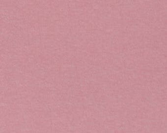 Rose Pink Solid Cotton Spandex Jersey Knit Fabric