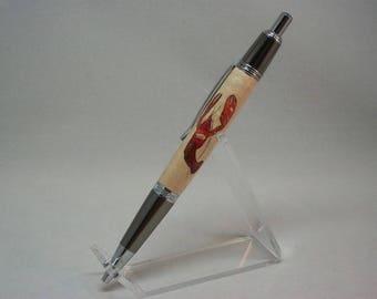 "Maine ""Lobstah"" Inlay Pen"