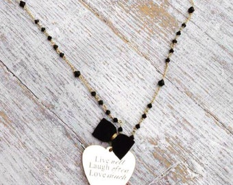 Customizable Rosary necklace