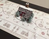 Christmas Table Runners, French Jacquard Christmas Table Runner