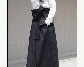 SALE 25% OFF black boho skirt, boho long skirt, bohemian skirt, long boho skirt, maxi boho skirt, boho maxi skirt, long skirt pockets, Every