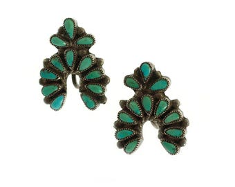Vintage Southwest Turquoise Earrings