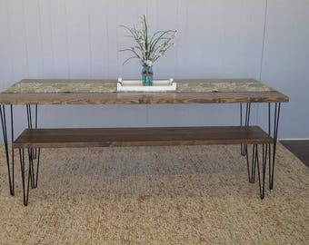Urban Farmhouse Bench