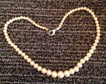 Vintage Child's String of Pearls