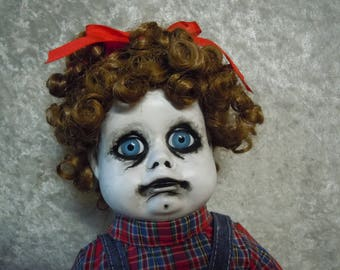 Sad and Ugly Doll  Creepy Doll #126  Day of the Dollies