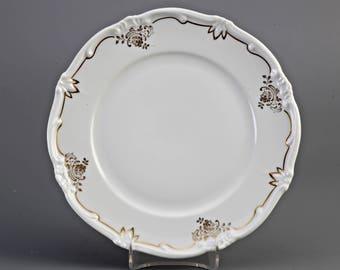 "6x 1 Weimar Porcelain ""Katharina"" plate, ca. 1930"