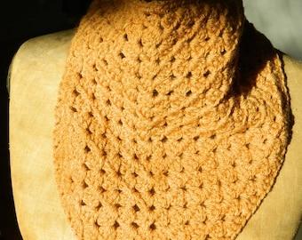 Tawny crochet bandana