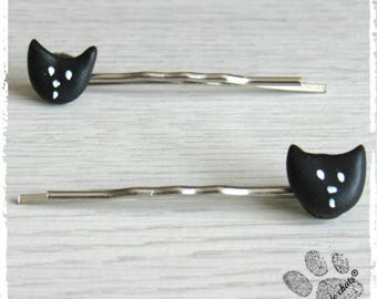 Black Cat Bobby pins