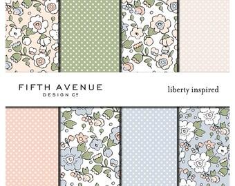 Liberty Inspired - Digital Paper