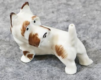 Vtg Gotha Pfeffer Germany Pin Holder - Scottie Dog 1930s 1940s