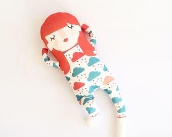 Sweet Cloud Organic cotton knit doll