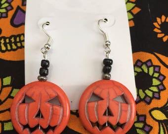 Jack O Lantern Earrings