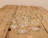 Irish Coffee Glasses, Shamrock Glasses, Sherry Glasses, Small Wine Glasses, St Patrick's Day Party Glasses, Christmas Dessert Wine Glasses