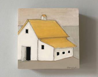 Barn Painting Yellow II
