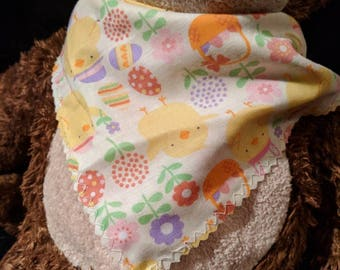 SALE Spring Chick Tie Pet Bandana Size Medium