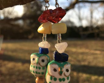 That's owl for now- Earrings
