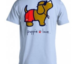 Puppie Love Tee Lifeguard Pup