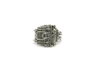 Moscow Kremlin ring, Russian ring,  moscow ring, russian ring,  spoon ring