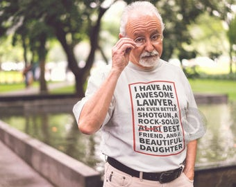 Mens Funny Shirt For Dad from Daughter for Father's Day