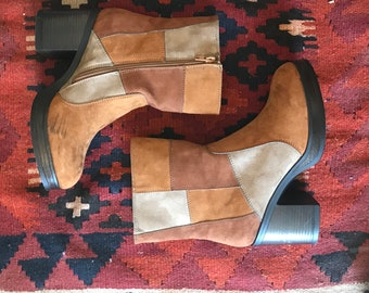 MIA Patchwork Boots
