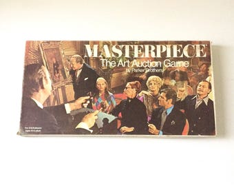 Vintage 1970 Masterpiece Board Game