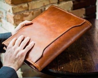 Leather Padfolio // Leather Portfolio // Leather Binder