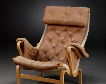 Bruno Mathssons Pernilla Sessel, Dux, Design Classics, Lounge Chair, Easy  Chair