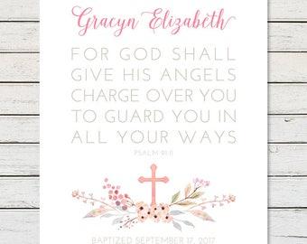 GIRL BAPTISM GIFT, Gift for Goddaughter, Goddaughter Gift, Baptism Printable, Baptism Gift Girl, Girl Christening Gift, Baptism Gift