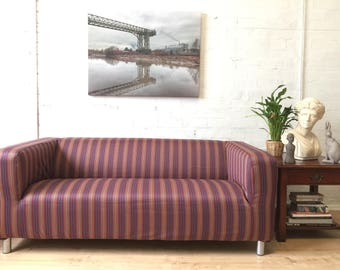 Sale Ikea Klippan Sofa Cover In Beautiful 100% Wool Fabric