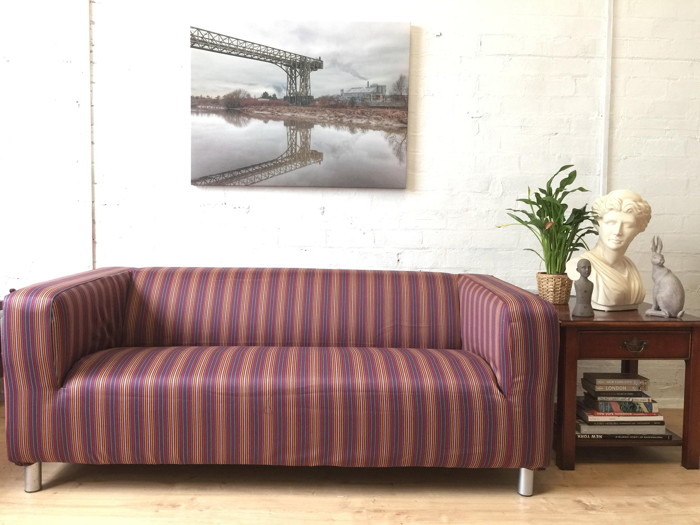 verkauf ikea klippan sofa abdeckung in sch nen stoff aus 100. Black Bedroom Furniture Sets. Home Design Ideas