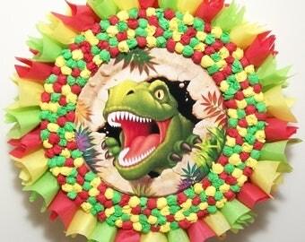 Dinosaur T-Rex Pull String or Hit Pinata