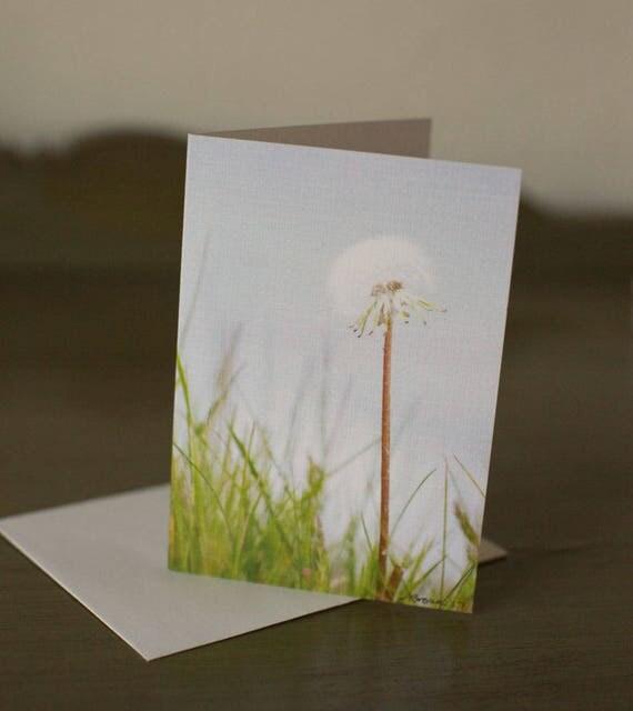 3.5 x 5 Linen Blank Notecard Beach Wish Stick Original Photography