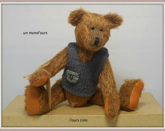 The collection bear Lino mohair and his lovely jumper by a world ' bear