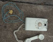 Vintage Western Electric rotary dial wall phone
